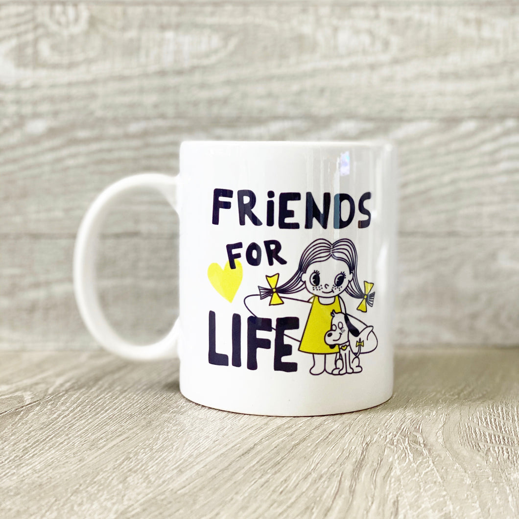 Friends For Life Coffee Mug