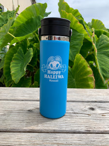 Happy Haleiwa Hydroflask 20oz