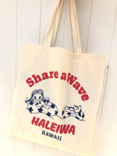 Load image into Gallery viewer, Mahalo Tote- Share A Wave