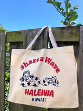 Load image into Gallery viewer, Aloha Tote- Share A Wave