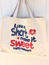 Load image into Gallery viewer, Aloha Tote- Life Is Short