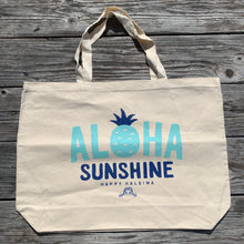 Load image into Gallery viewer, Beach Tote- Aloha Sunshine