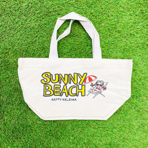 Mini Canvas Bag - Sunny Beach