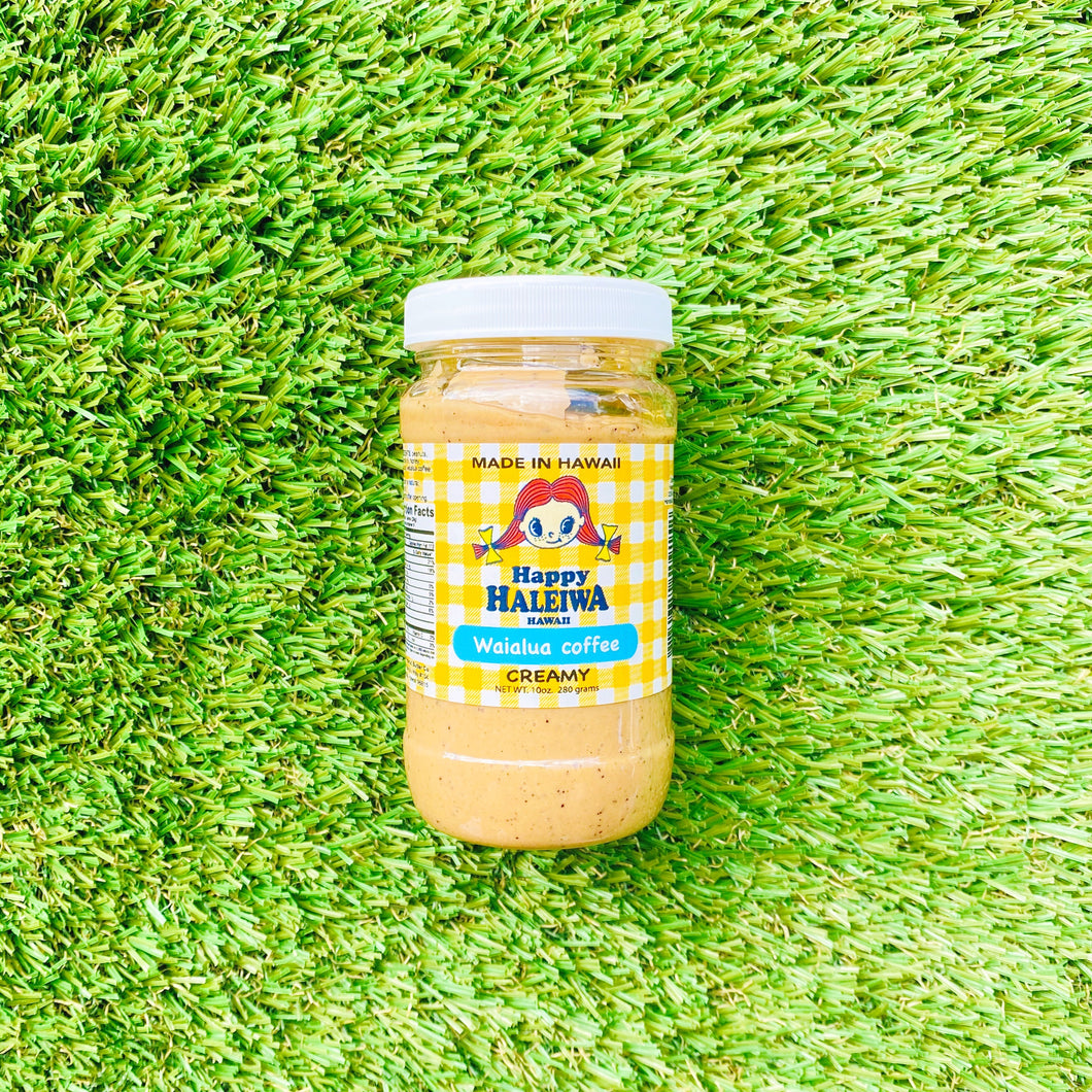 Waialua Coffee Peanut Butter