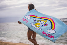Load image into Gallery viewer, Lucky Rainbow Beach Towel