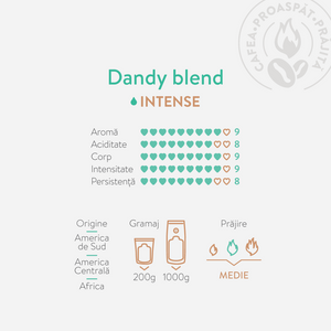 Frez Coffee Dandy Blend caracteristici