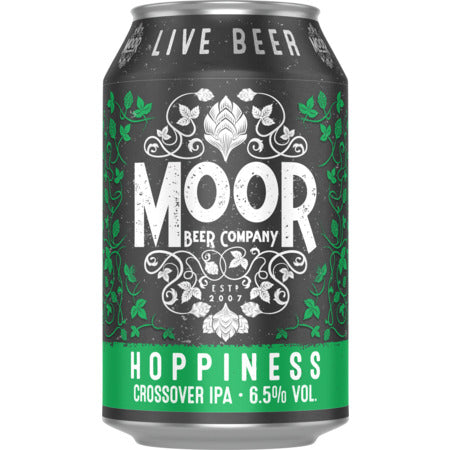 Moor Hoppiness Crossover IPA - 6.5% vol