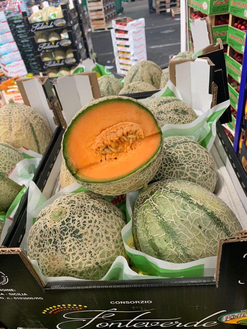 Cantaloupe melon from Sicily