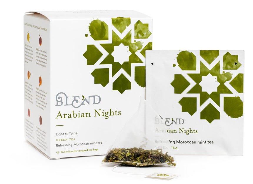 Arabian Nights Green Tea 15 tea bags
