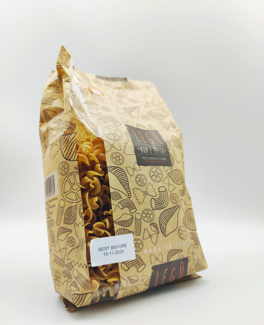 High protein and gluten free Fusilli Legu` pasta 400g