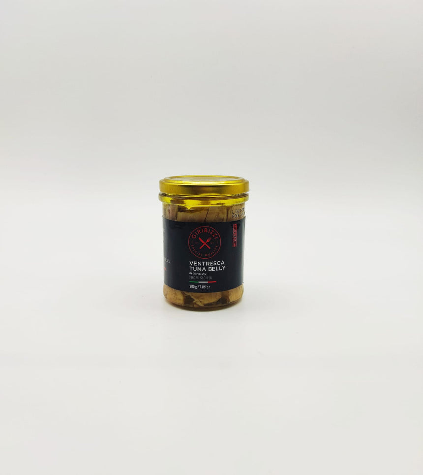 Ventresca Tuna Belly in olive oil from Sicily (200g)