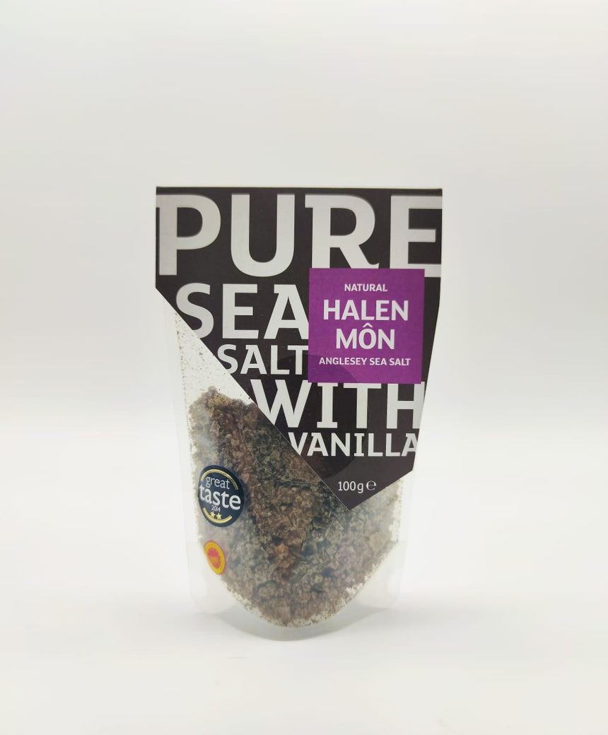 Halen Môn Sea Salt - Different flavours