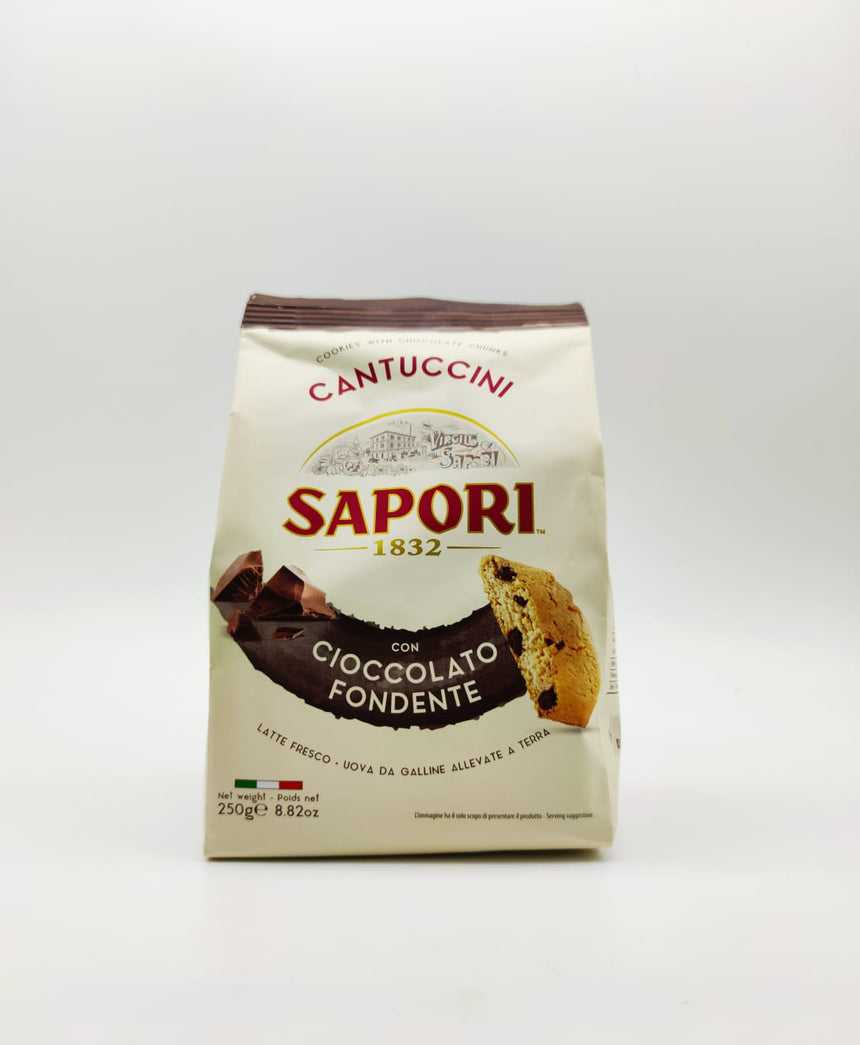 Cantuccini with Dark Chocolate from Tuscany - 250g