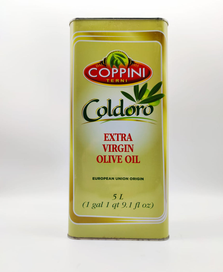 Coppini Oil  - Extra virgin Olive Oil - Dressing & Cooking (5L)