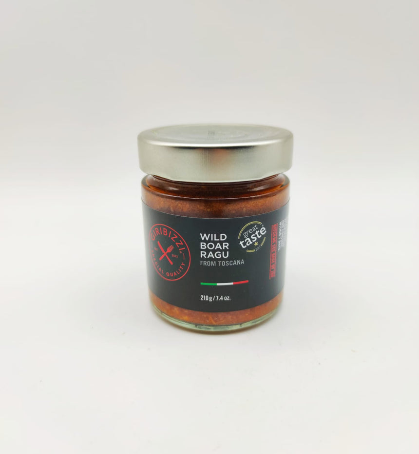 Wild boar ragu from toscana 210g