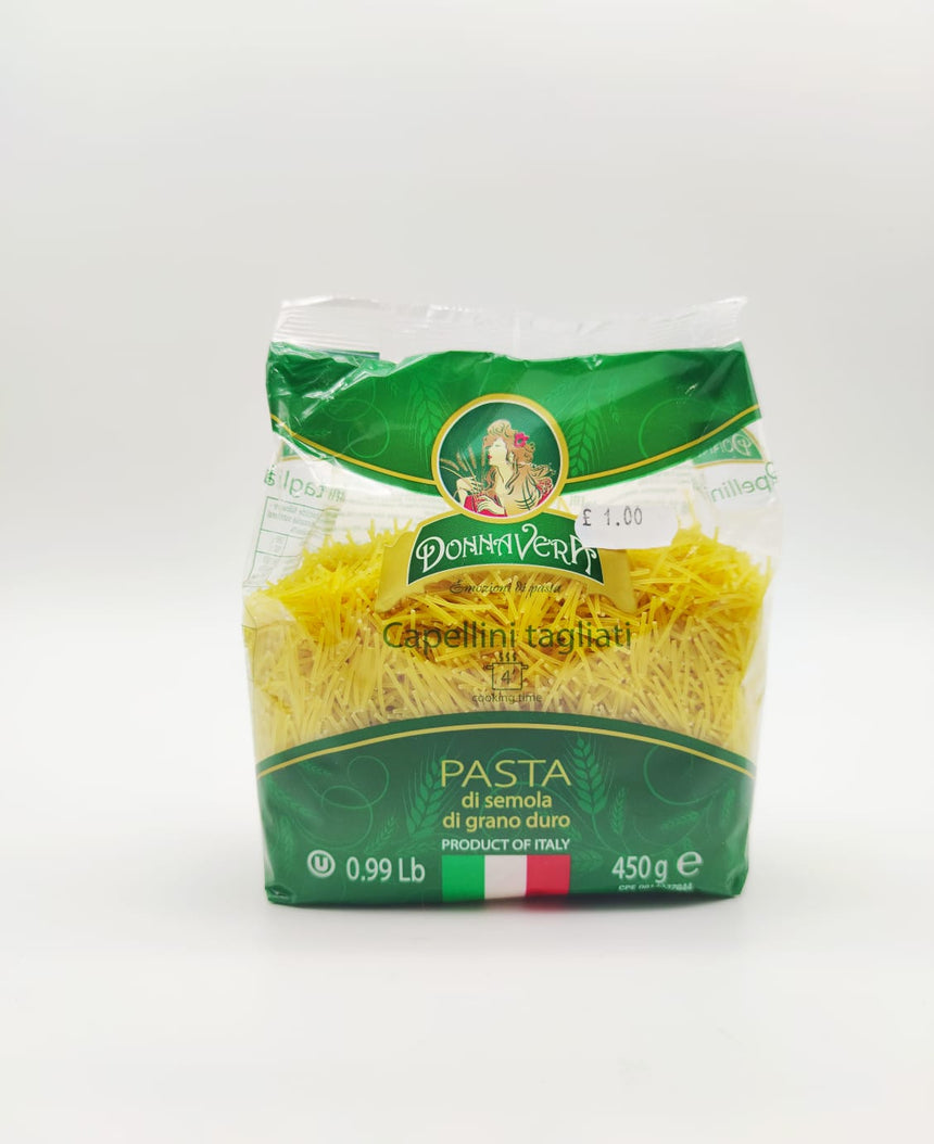 Mixed of 6 Donna Vera Pasta different shapes 450g