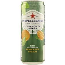 Sanpellegrino aranciata amara 330ml (Bitter orange)