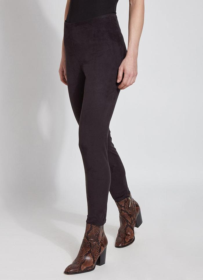 High Waist Faux Suede Shapper Legging