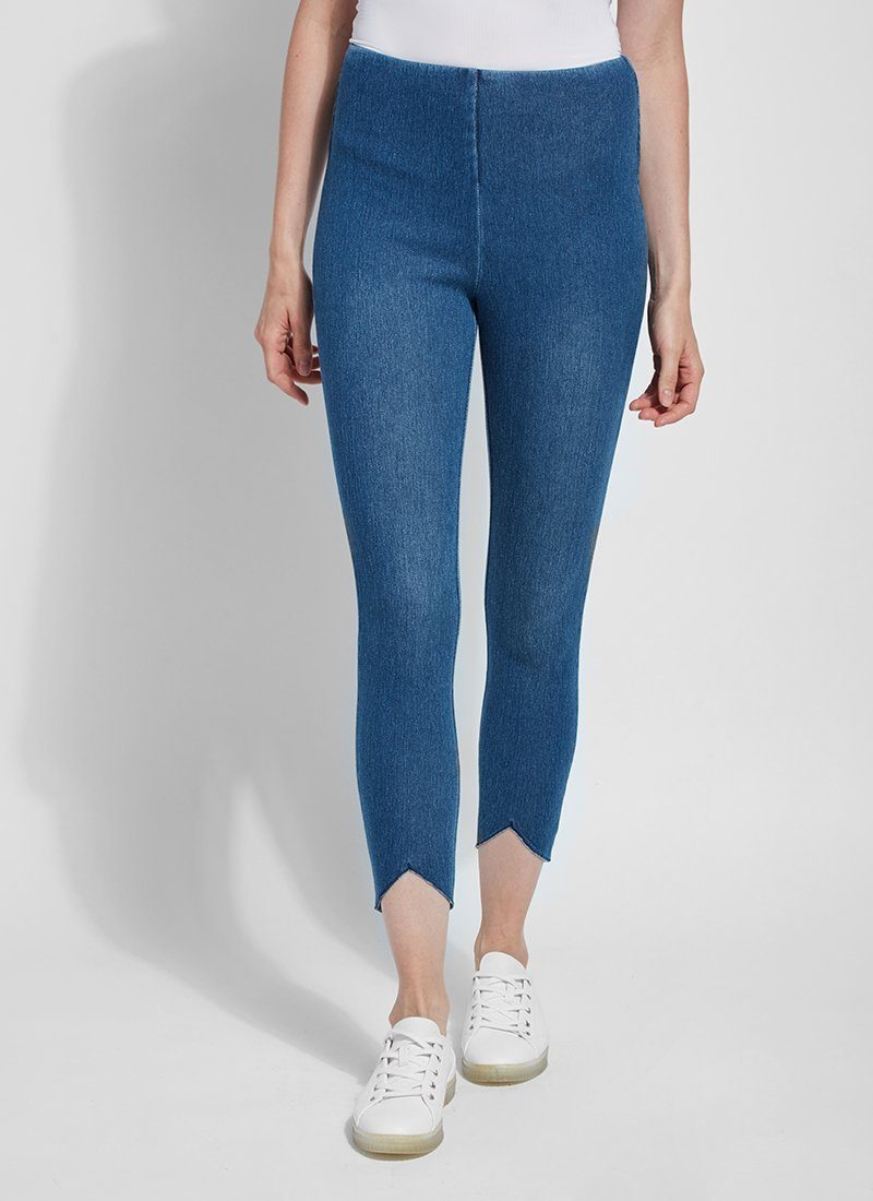 Lynette Scallop Edge Denim