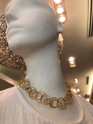 Jardin Gold Chain Necklace