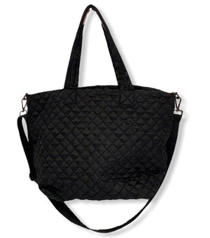 HD Medium Quilted Tote Bag