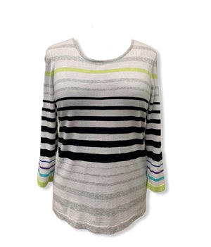 Belford Multi Color Stripe Sweater