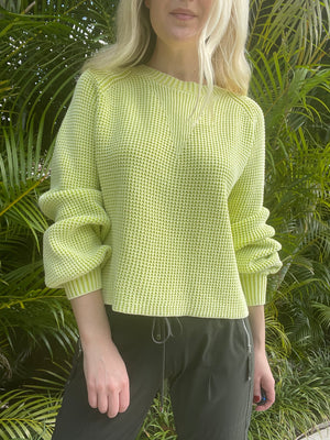 Cotton Shaker Stitch Sweater