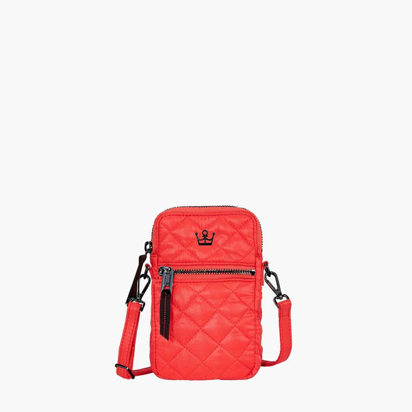 Oliver Thomas 24+7 Cellphone Crossbody Tomato Red