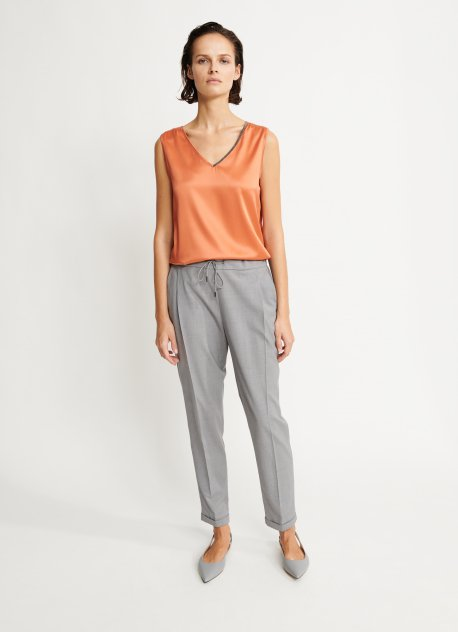 Spello Woven Wool Trousers