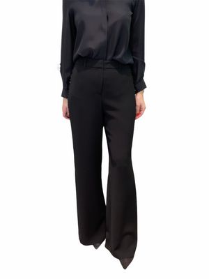 Wide Leg Pant with Embellished Sides