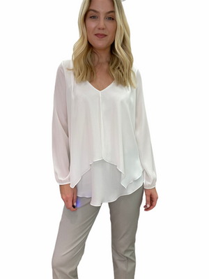 Double Layer Silky Top