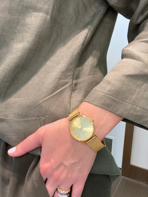 Gold Victoria Watch