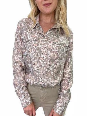 Silk French Provence Shirt