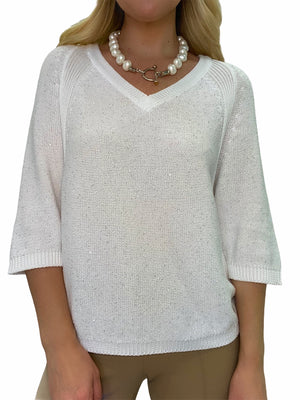 Sweater with Small Sequins