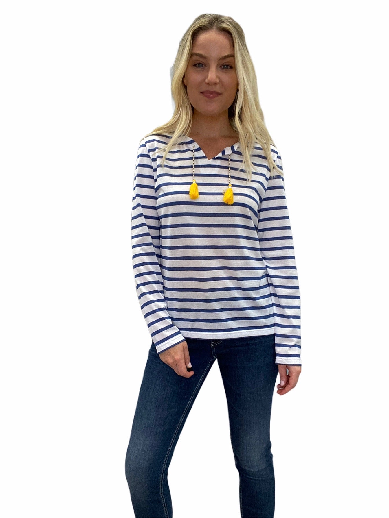 CASSIS Cotton Stripe Tee