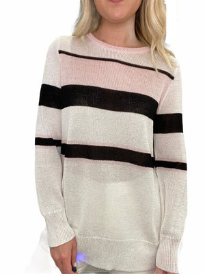 Stripe Hand-Loomed Sweater
