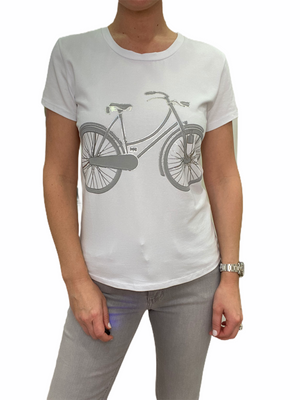 T-Shirt with Bicycle