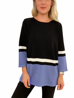 Hand-Loomed Stripe Sweater