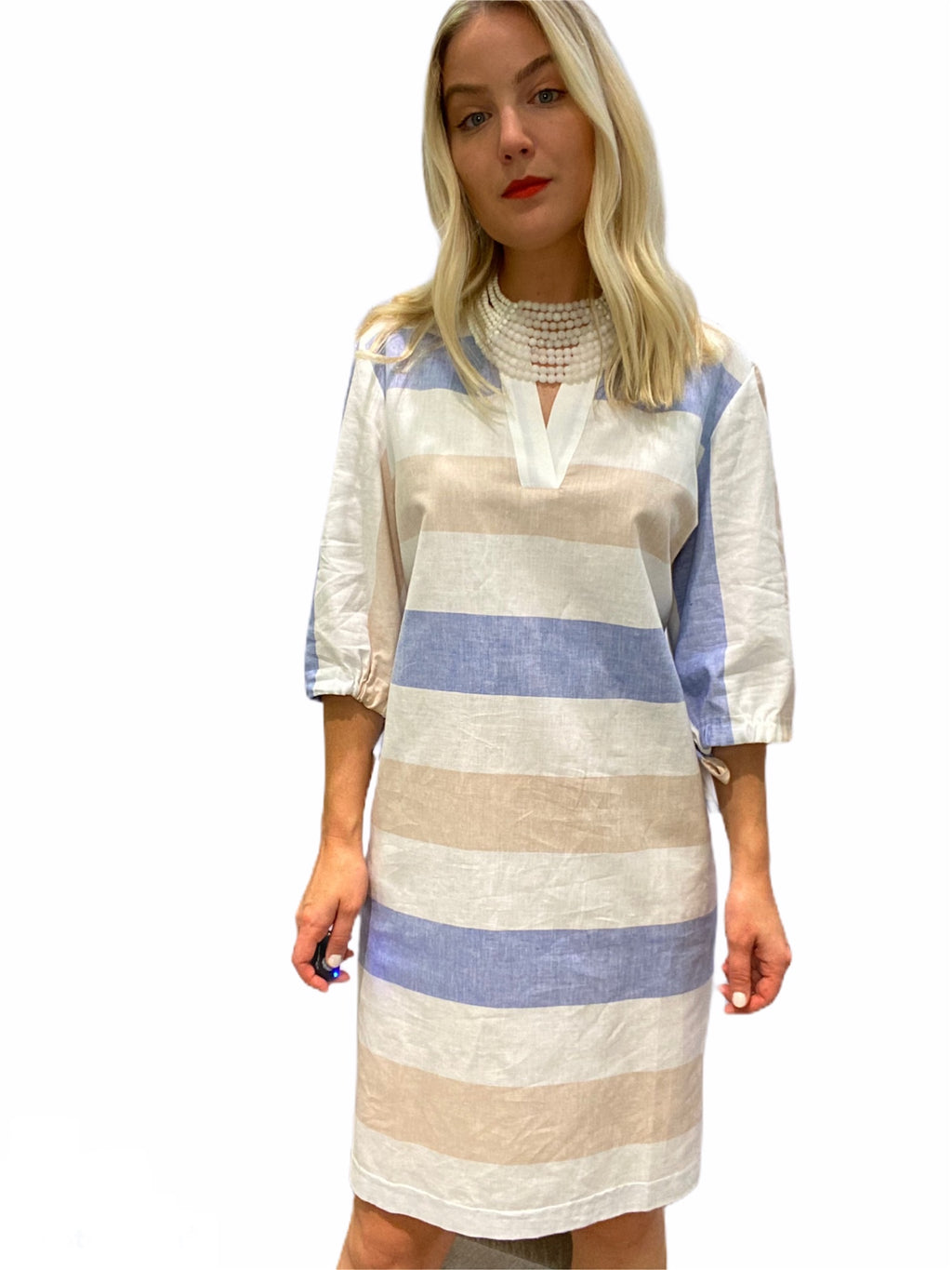 Nalissa Linen Dress