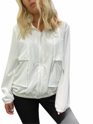 White Light Tech Travel Jacket