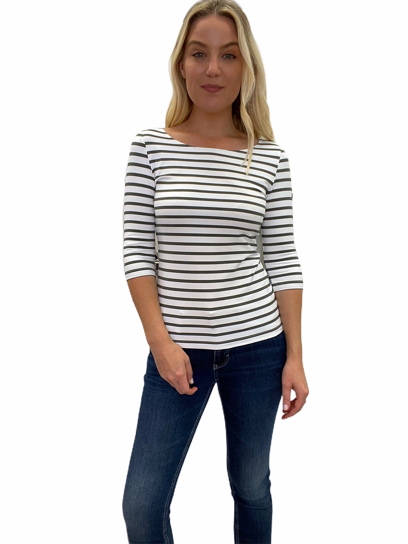 GARDE-COTE III Stripe Stretch Tee