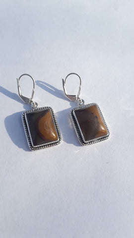 Sterling Silver Kentucky Agate