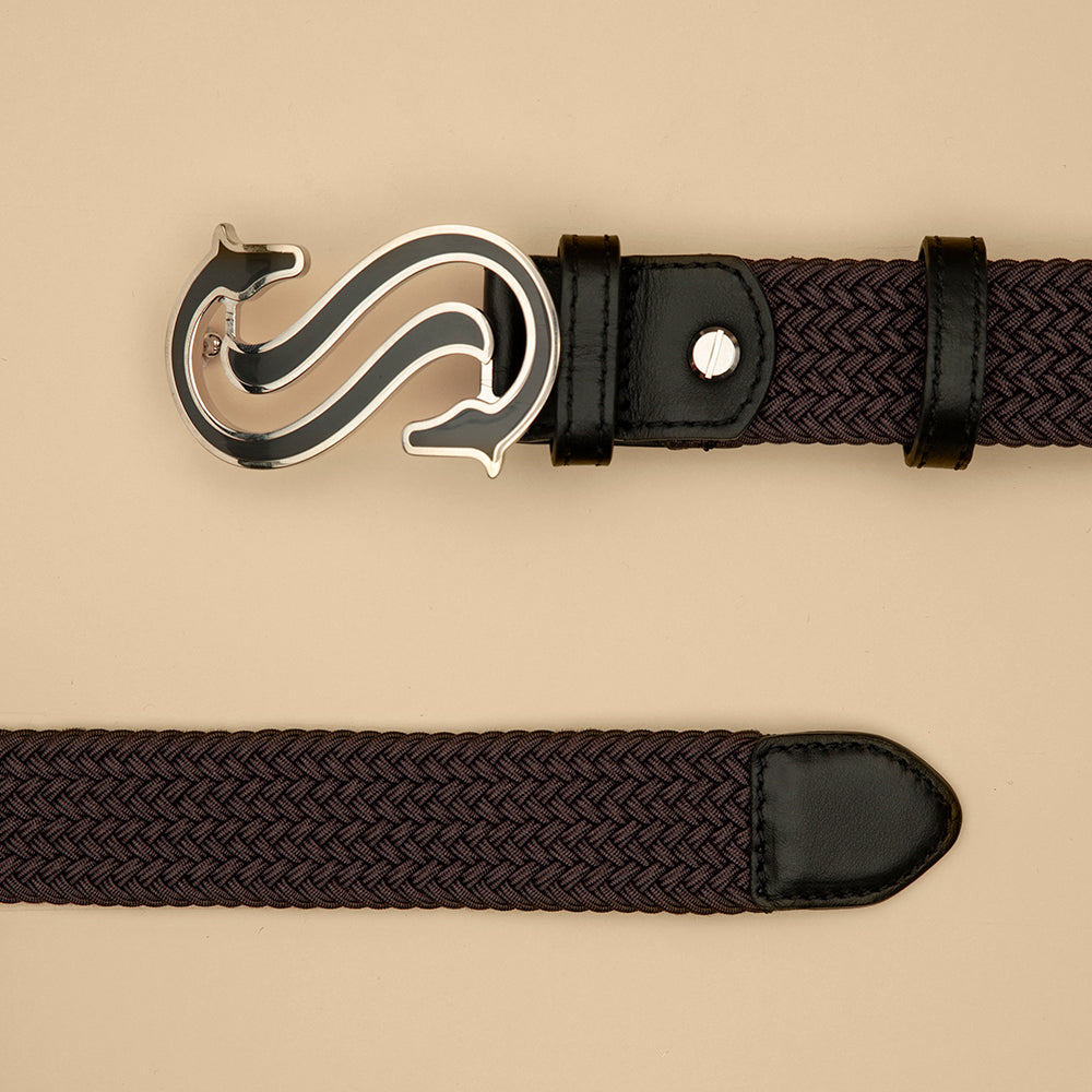 Grey Elastic Belt - Scuderia 1918