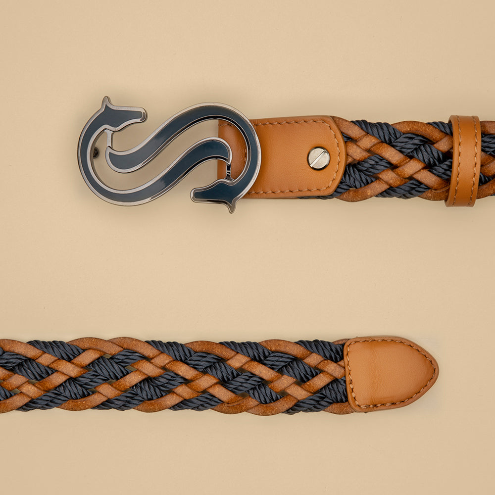 Blue Braided Belt - Scuderia 1918