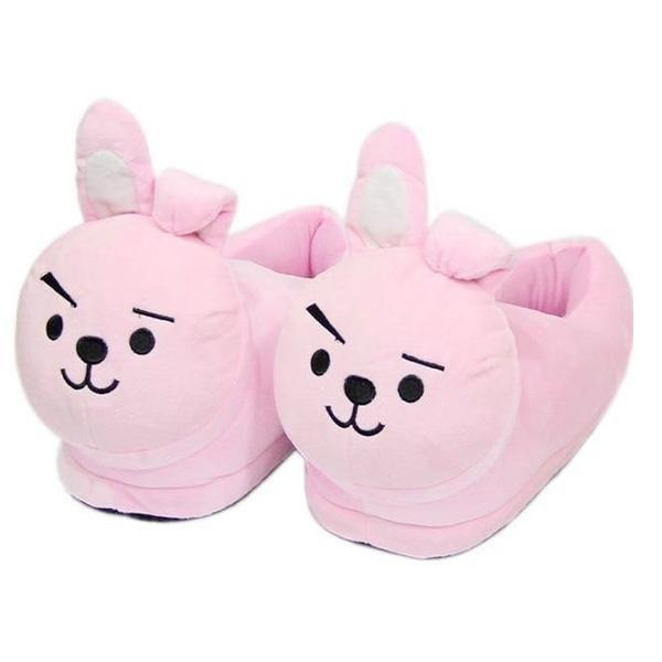 Chaussons Lapin Rose