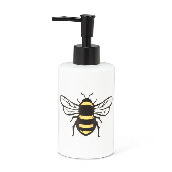 Yellow Bee Soap/Lotion Pump