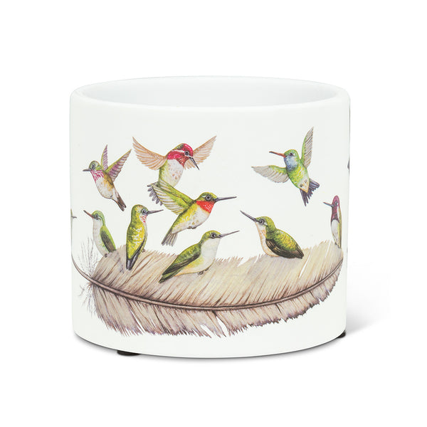 Small Hummingbirds Planter