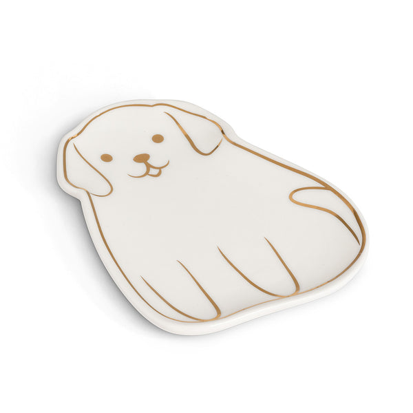 Dog Teabag/Trinket Plate