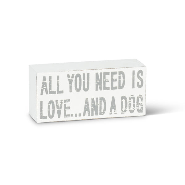 All you need...Dog Block