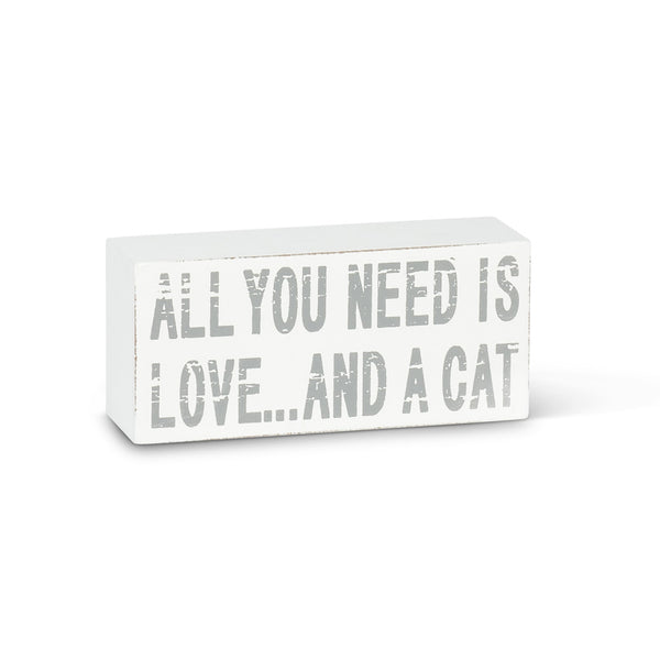 All you need...Cat Block